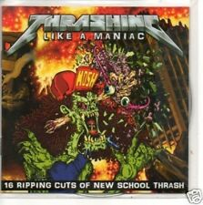 (442L) Thrashing Like A Maniac sampler - DJ CD