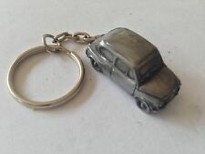 Fiat 600  ref65 3D split-ring keyring FULL CAR