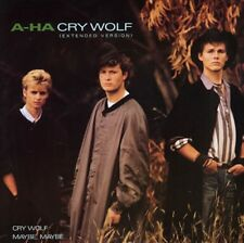 A-ha Cry Wolf (extended), Cry Wolf, Maybe Maybe German 12""