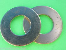 (2) #32 BRASS Washer for Hobart Meat Grinder Mincer Auger Worm 4332 4532