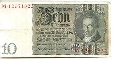 Germany (weimar): 10 Mark 1929 FINE