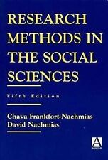 Research Methods in the Social Sciences by Frankfort-Nachmias, Chava
