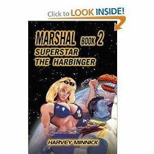 MARSHAL BOOK 2 SUPERSTAR THE HARBINGER signed, hard cover science fiction super