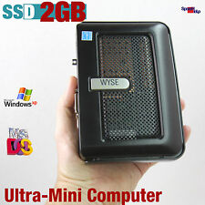 ULTRA MINI KLEIN HAND COMPUTER PC 1GHZ  DOS WINDOWS XP 2000 DVI 2GB SSD 512MB