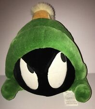 Looney Toons Large Marvin The Martian Head Plush Warner Bros 12""