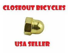 Spring Fork Center Nut Gold Lowrider Beach Cruiser Bicycle Parts 155898