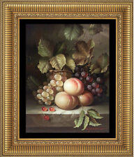 Hand Painted Art Original Oil Painting on Canvas Still Life Fruit 12x16