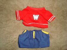 Ganz Webkinz clothes lot 2 pcs 1 T shirt & 1 short pants NO CODES