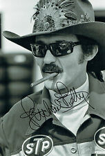 Richard PETTY The KING SIGNED 12x8 Portrait Photo AFTAL Autograph COA