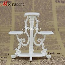 Fine 1:12 scale dollhouse miniature Collectible furniture flower stand
