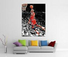MICHAEL JORDAN CHICAGO BULLS GIANT WALL ART PICTURE PHOTO POSTER