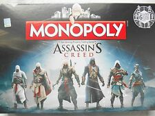 ASSASSINS CREED EDITION MONOPOLY BOARD GAME *BRAND NEW*