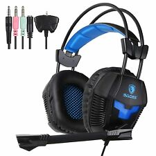 Sades SA-921 USB Stereo Gaming Headset Headphone With Mic For PS4 Xbox360