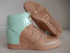 NIKE DUNK SKY HI HIGH VT QS VACHETTA TAN BROWN-ARCTIC GREEN SZ 11 [611908-201]