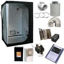 Grow Tent 120 Room Hydroponics Grow Light Kit 600w Extractor Fan Kit complete