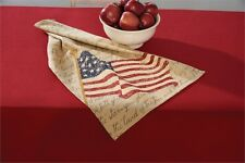Patriotic American Flag Cotton Dish Towel ~ Celebrate American Pride!