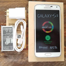 New Samsung Galaxy S5 SM-G900A 16GB AT&T TMOBILE GSM Unlocked White Smartphone