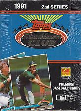 1991-Stadium Club MLB Series Two Sealed Box 36 Packs