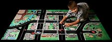 Play Mat Kids Road Activity Car Vinyl Mat Toddler Child Large Cleanable