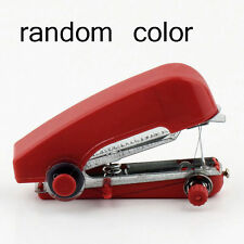 Mini Portable Cordless Hand-held Clothes Sewing Machine Home Travel Stitch Red W