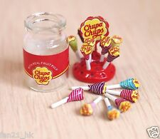 Accessories Dollhouse Miniature chupa chups Sweets Candy  re-ment Size #504