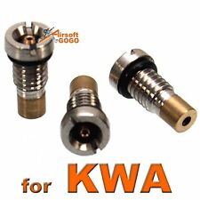 3pcs X GBB Mag Inlet Valves for KWA Airsoft Magazine