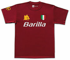 ROMA 1983 BARILLA no.5 FALCAO Retrò T-Shirt Taglia Media