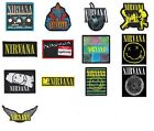 Nirvana Sew On Patch/Patches NEW OFFICIAL. Choice of 13 designs