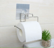 LIQUIDATION Sleek Toilet Paper Holder - Removable Adhesive Stainless Steel