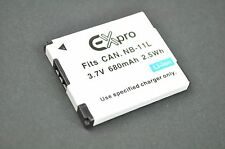 Canon NB-11L Battery Pack Powershot Elph 130 A2300 A2400 A3400 A4000 IS DH7869