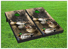 VINYL WRAPS Duck Nature Hunting Cornhole Board DECALS Bag Toss Game Stickers 58