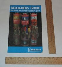 Reloaders' Guide for Hercules Smokless Powders - 1983 Booklet listing no. three