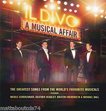 IL DIVO - A MUSICAL AFFAIR  *NEW 2013 CD ALBUM*  NICOLE SCHERZINGER/MICHAEL BALL