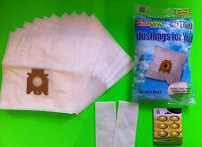 10 Staubsaugerbeutel Filtertüten für Miele: S 5000, S 5211, S 5311(Staubbeutel)