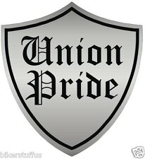 UNION PRIDE HARD HAT STICKER HELMET STICKER
