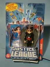 JUSTICE LEAGUE UNLIMITED BATTLE RAVAGED HAWKGIRL ACTION FIGURE! NEAR MINT!