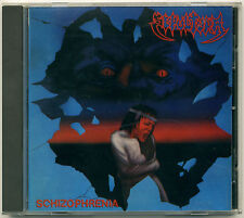 SEPULTURA Schizophrenia; 1987 CD Roadrunner Records