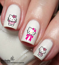 Hello Kitty Cartoon Nail Art Sticker Water Transfer Decal 61