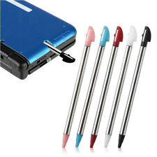 5pcs Colors Metal Retractable Stylus Touch Pen For Nintendo 3DS XL N3DS LL Game
