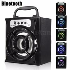Bluetooth Inalámbrico Portátil Altavoz Speaker Super Bass USB/TF/AUX/FM Radio