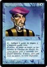 "x1 Sorcier sybarite (Prodigal Sorcerer) 3e BN/BB 1994 ""FRENCH BETA"" MTG EX ★★★"