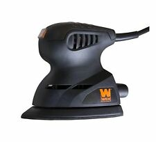 WEN 1-Amp Electric Detailing Palm Sander Lock On Switch Home Power Hand Tool