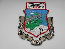 American aviation squadron cloth patch omnis vir tigris  1775