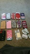 iPhone 4 accessory bundle (cases, cables, port, screen protectors, ear buds)