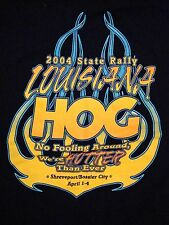 Louisiana HOG State Rally Motorcycles Bikers Long Sleeve T Shirt S