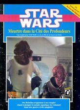 JDR RPG JEU DE ROLE / STAR WARS D6 MEURTRE DANS LA CITE DES PROFONDEURS