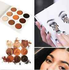 HOT 9 Colors Eye Shadow Makeup Cosmetic Shimmer Matte Eyeshadow Palette Set