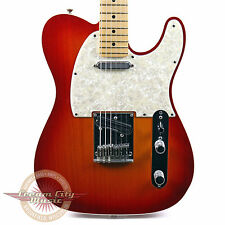 2013 Fender American Deluxe Telecaster Ash Body in Aged Cherry Sunburst Tele