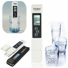 Home Digital LCD TDS EC Water Quality Meter Tester Filter Purity Pen Stick PPM