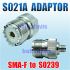 New Adaptor ( S021A ) SMA-F to SO239 for BAOFENG UV-5R Series Radio